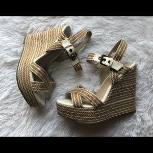 MIA  Espadrille Wedge Sandal size 7.5